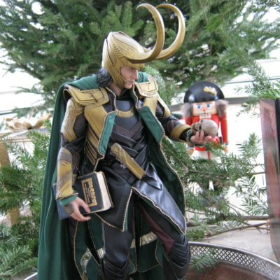 """Okay, ready Loki?  I'm going to start the voice-over."""
