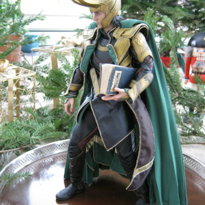 "Loki:  ""This is a waste of my time."""
