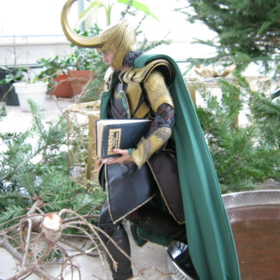 "Loki:  ""And to think I memorized the whole play for this travesty..."""