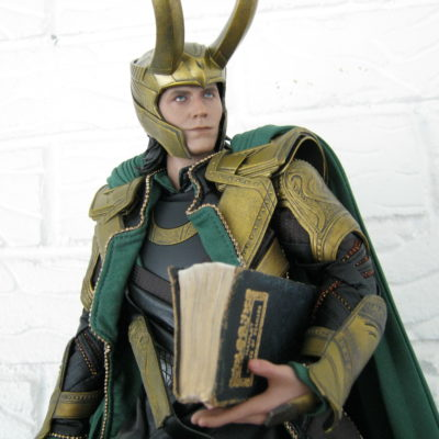 ...and, of course, with the help of Loki, the Ridiculously Articulate and Excessively Articulated 6th Scale Action Figure.