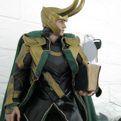 """Loki:  """"Flattery will get you nowhere."""" Christine:  """"Think that's flattery, do you?"""""""