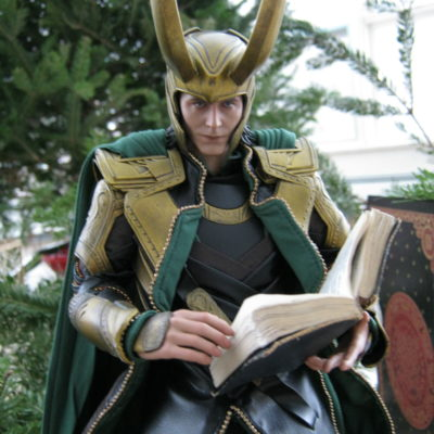 "Loki:  ""Beyond the contemplation of Death, that is."""