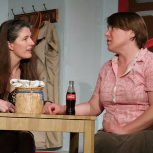 Christine Williamson & Anne Foldeak and as Meg & Lenny Magrath in Crimes of the Heart, (Bradford Old Church Theatre, Summer 2015)